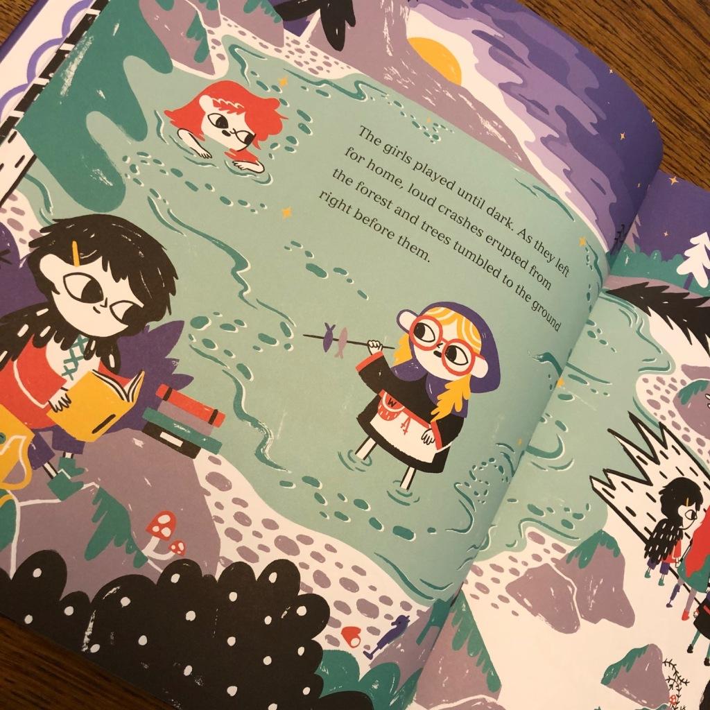Three Little Vikings by Bethan Woollvin
