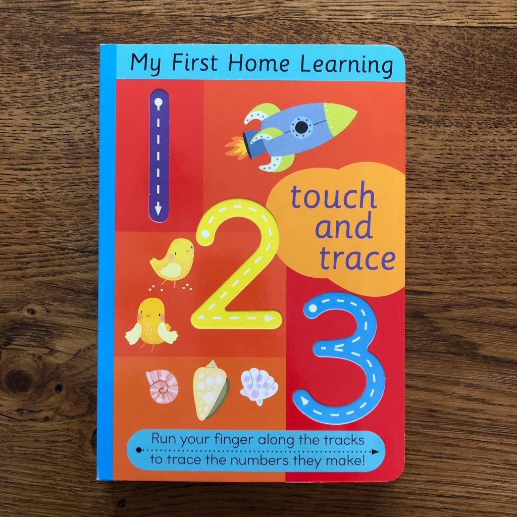 Touch and Trace 123 by Harriet Evans & Jordan Wray