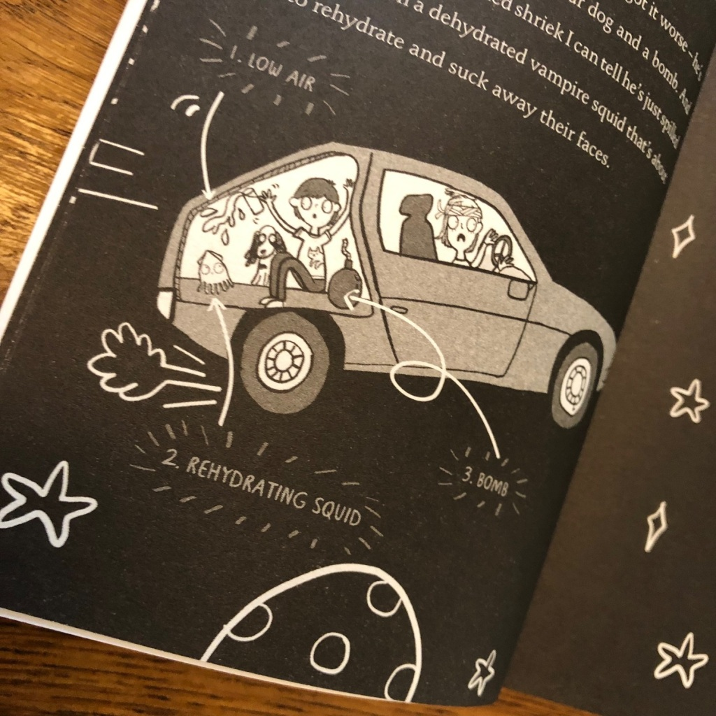 How to Survive Without Grown-Ups by Larry Hayes, illustrated by Katie Abey