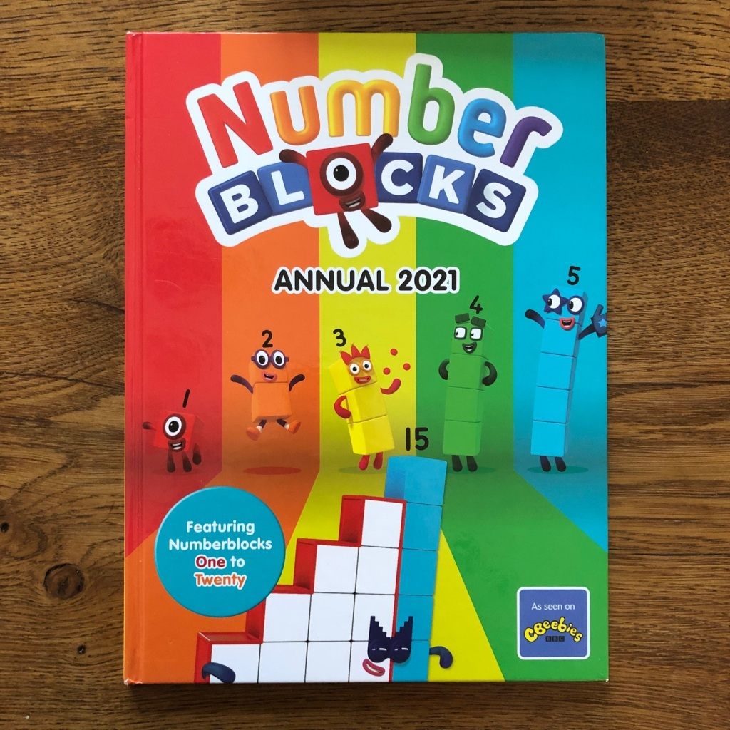 Official 2021 Numberblocks Annual for the BAFTA-winning hit CBeebies show!