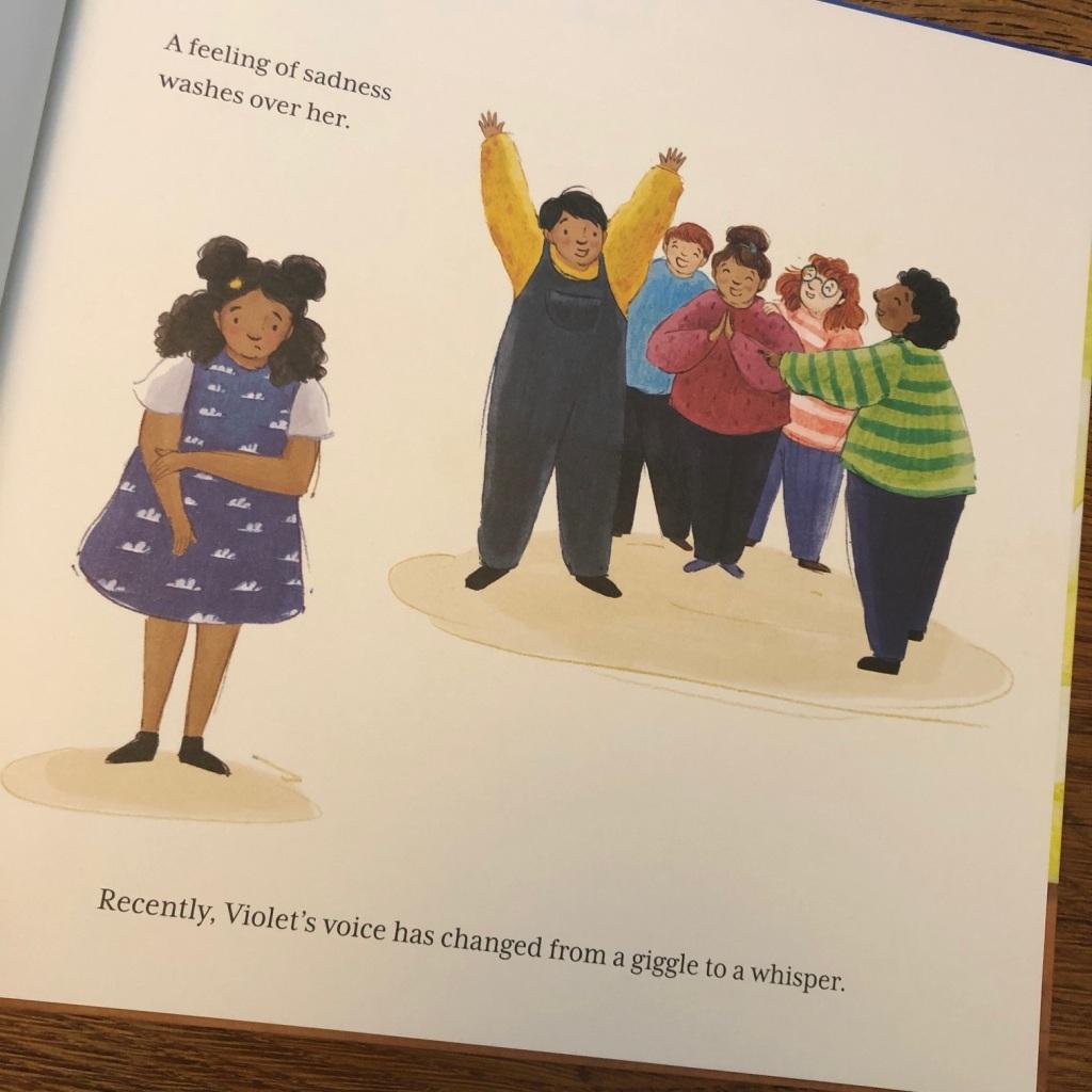Violet's Tempest by Ian Eagleton and Clara Anganuzzi Lantana Publishing
